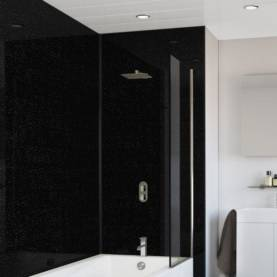 Splashpanel Black Sparkle Economy